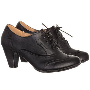 d52d0e85246 Refresh Shoes Shoes - NEW Vintage Coal Mill Lace-Up Oxford Heels